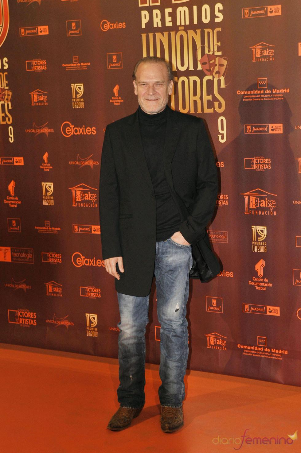Lluis Homar en los XIX Premios de la Unión de Actores