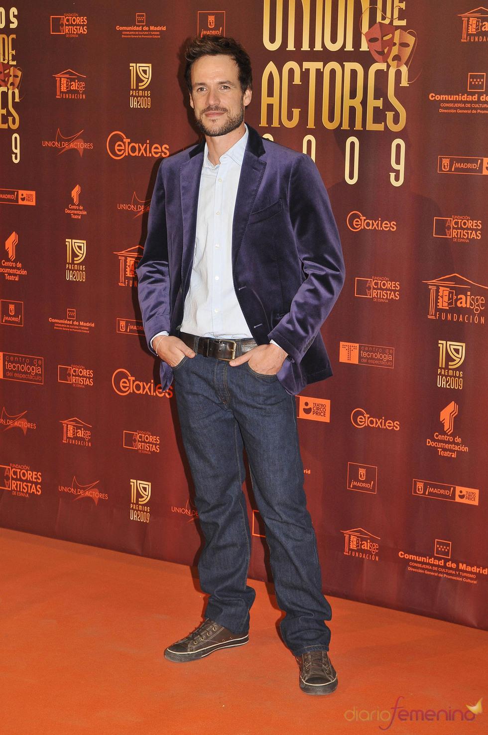Daniel Grao en los XIX Premios de la Unión de Actores