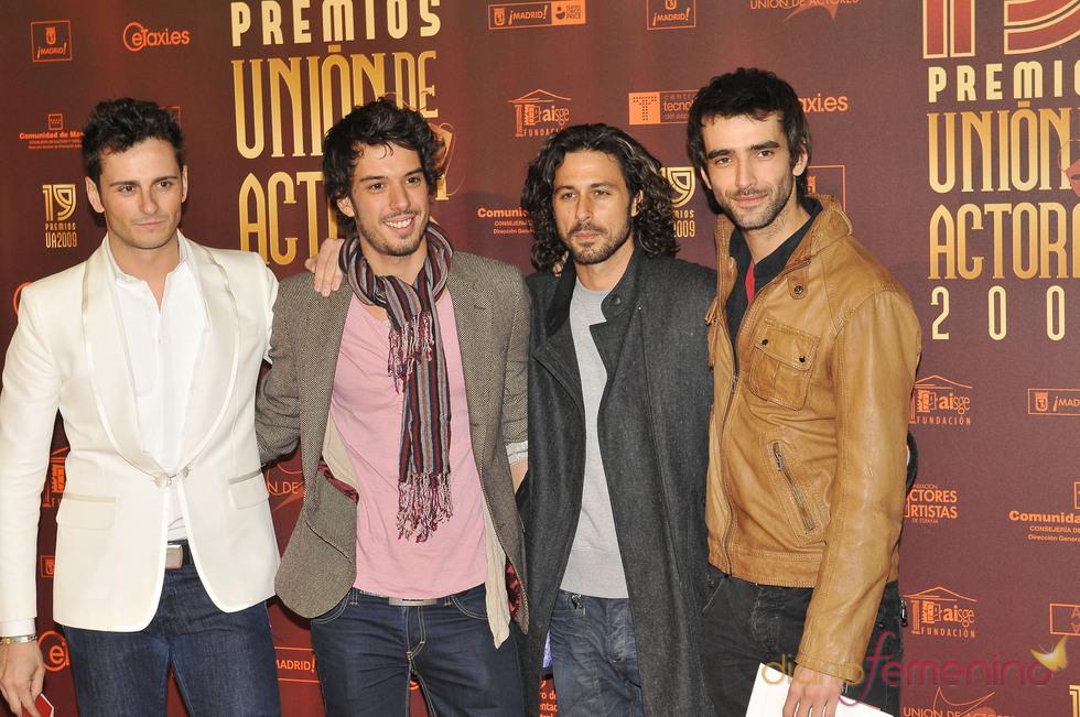 Caras guapas en los XIX Premios de la Unión de Actores