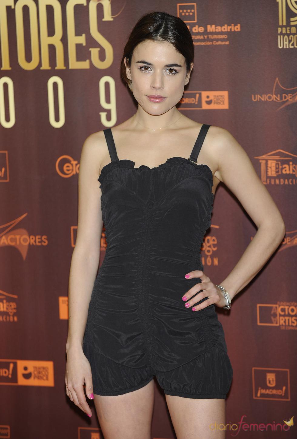 Adriana Ugarte en los XIX Premios de la Unión de Actores