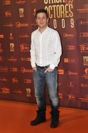 Secun de la Rosa en los XIX Premios de la Unión de Actores