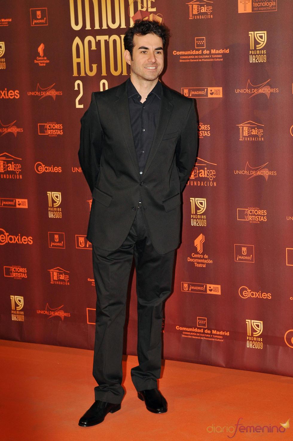 Daniel Muriel en los XIX Premios de la Unión de Actores