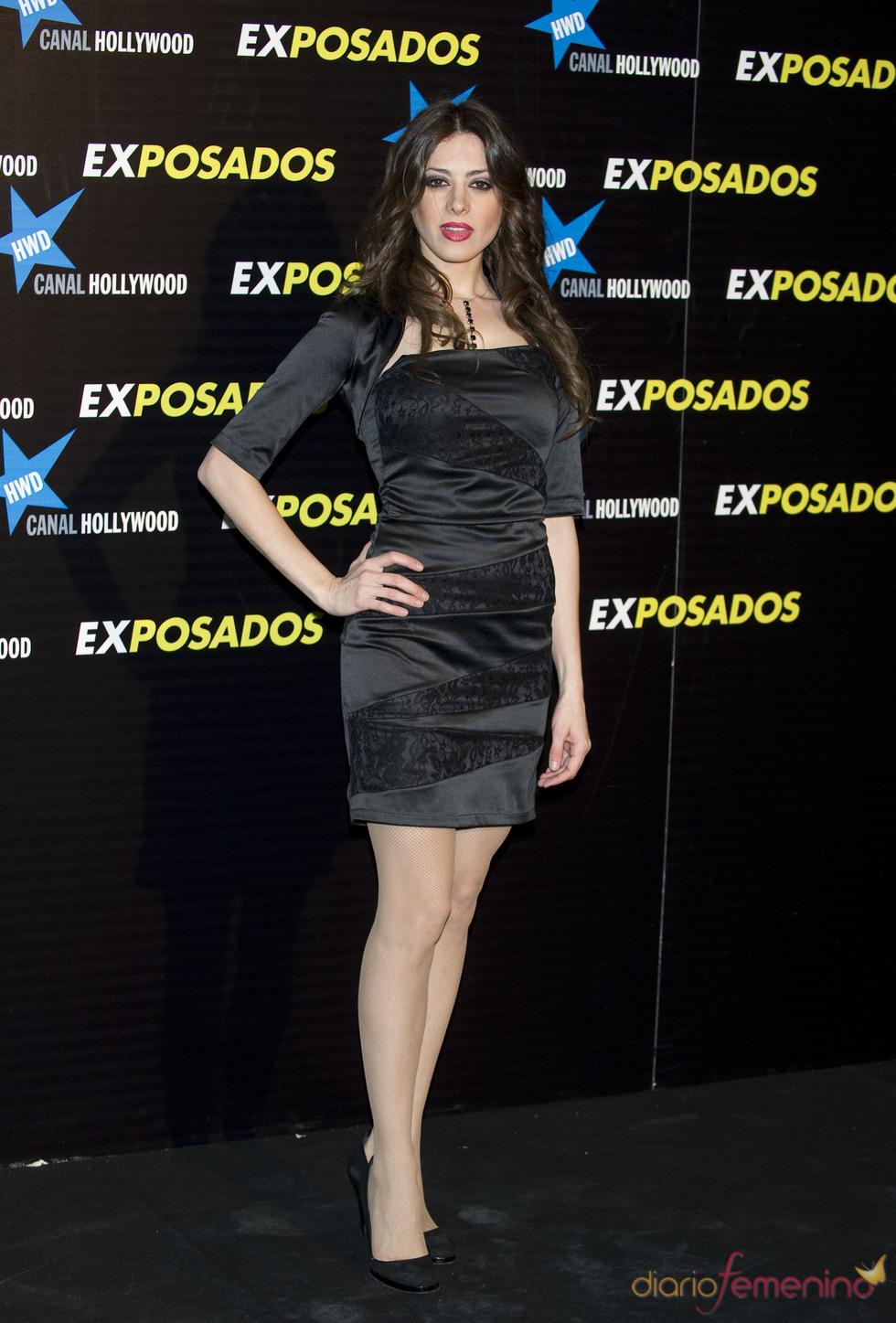 Aroa Gimeno en la première de 'Exposados'