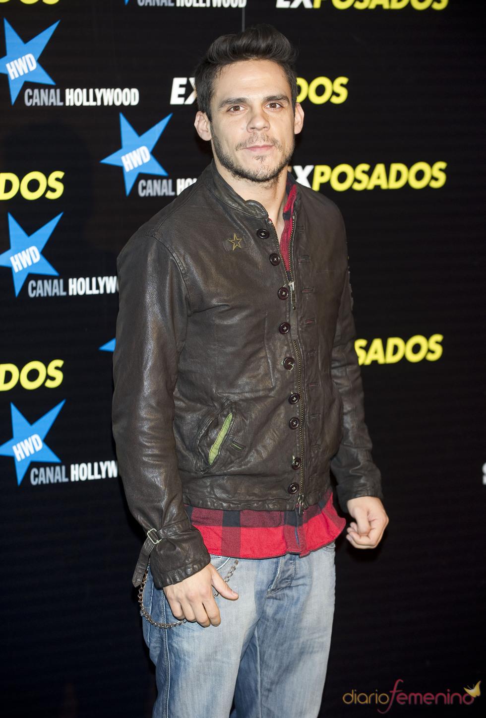 Bart Santana en la première de 'Exposados'