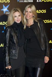 Genoveva Casanova y Patricia Cerezo en la première de 'Exposados'