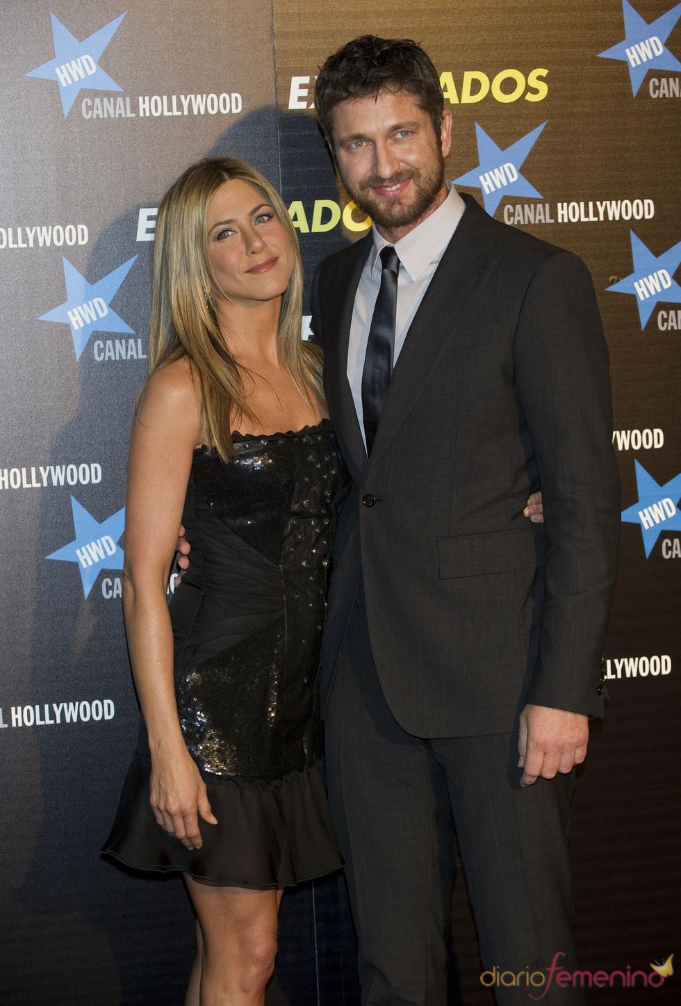Jennifer Aniston y Gerard Buttler en España