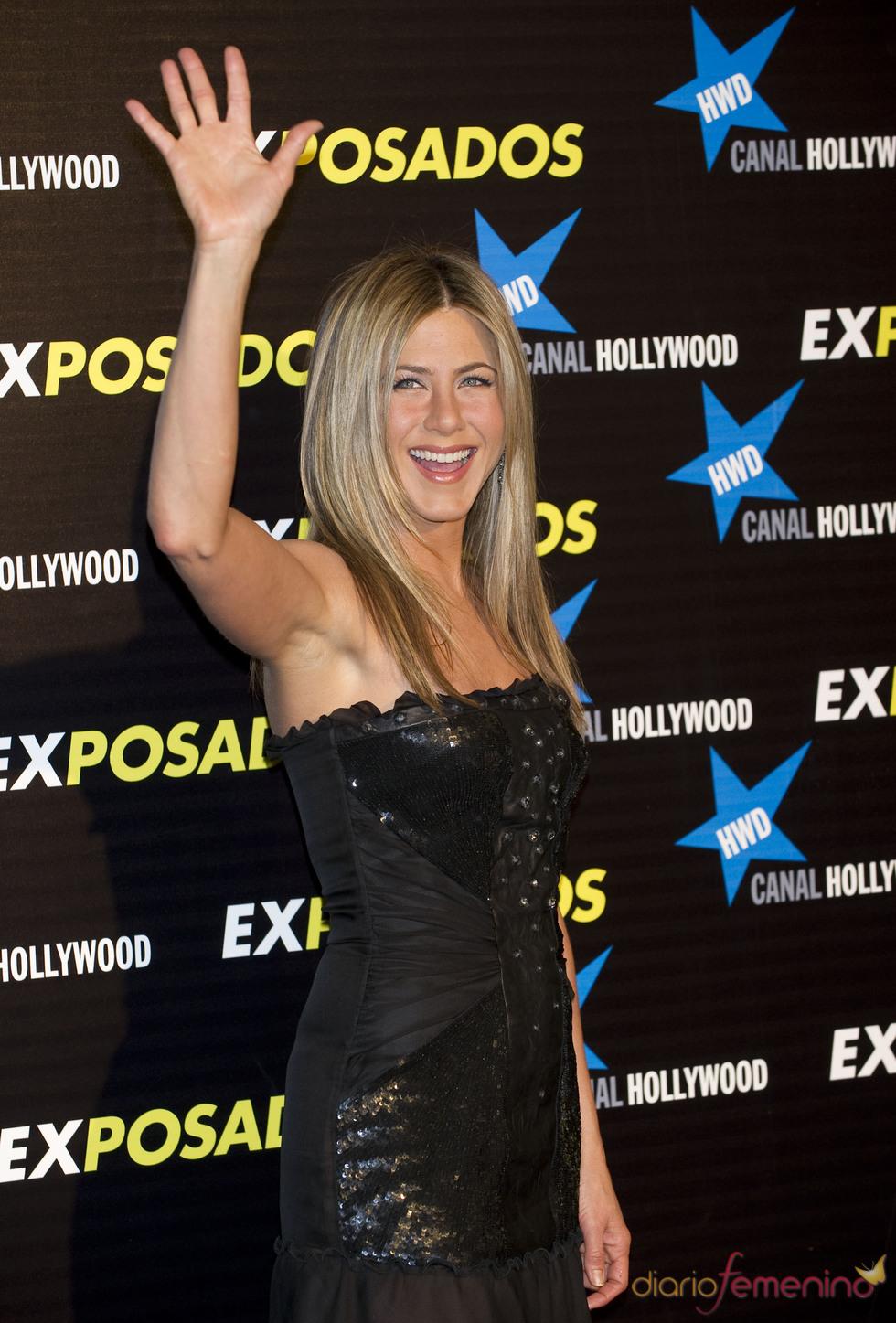 Jennifer Aniston en España