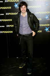 Benjamín Vicuña en la première de 'Exposados'