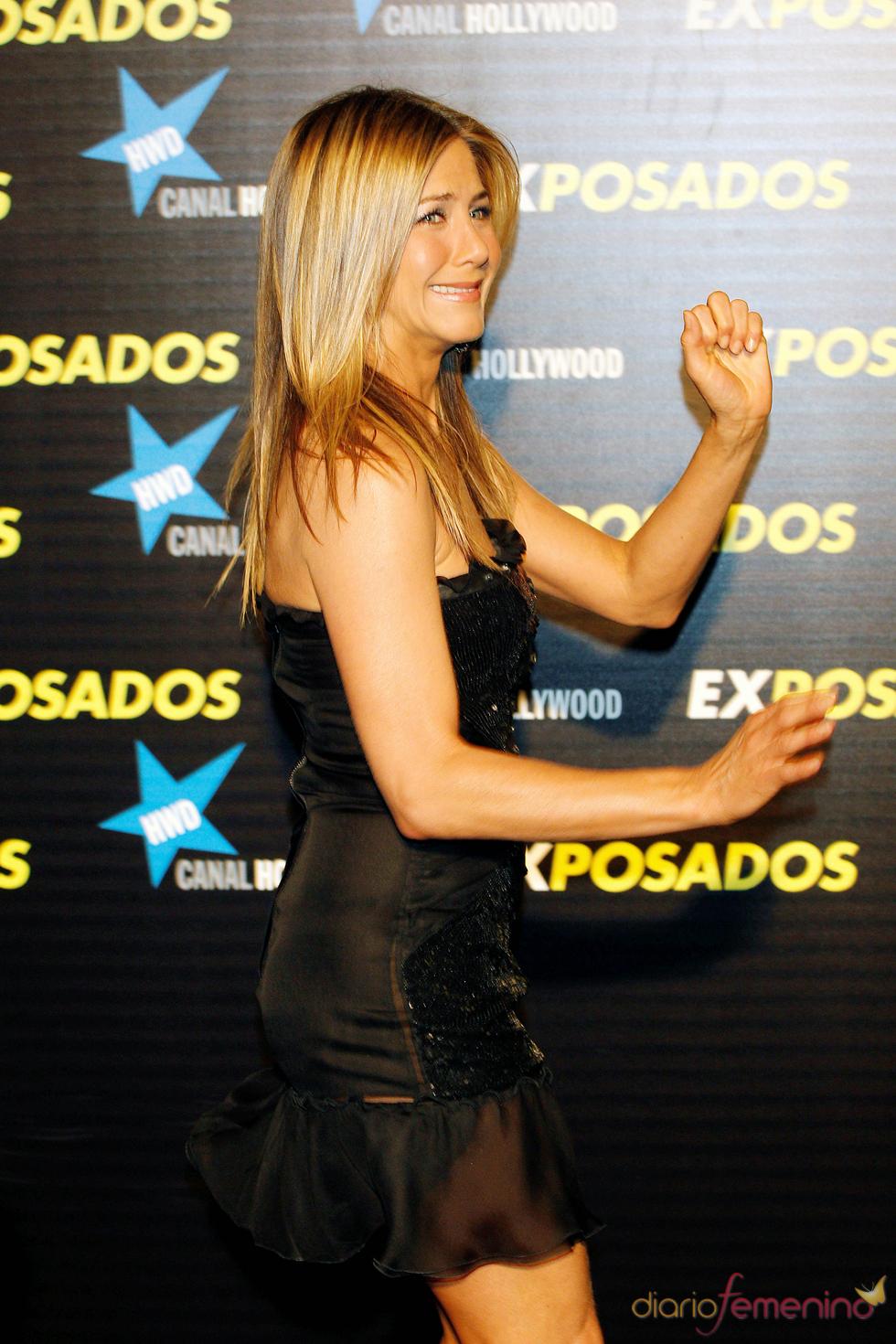 Jennifer Aniston en Madrid