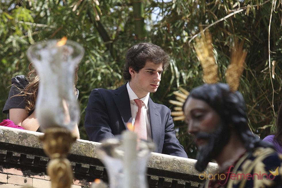 Carlos Martínez de Irujo Solís en la Semana Santa de Sevilla