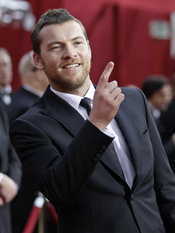 Sam Worthington en los Oscars 2010