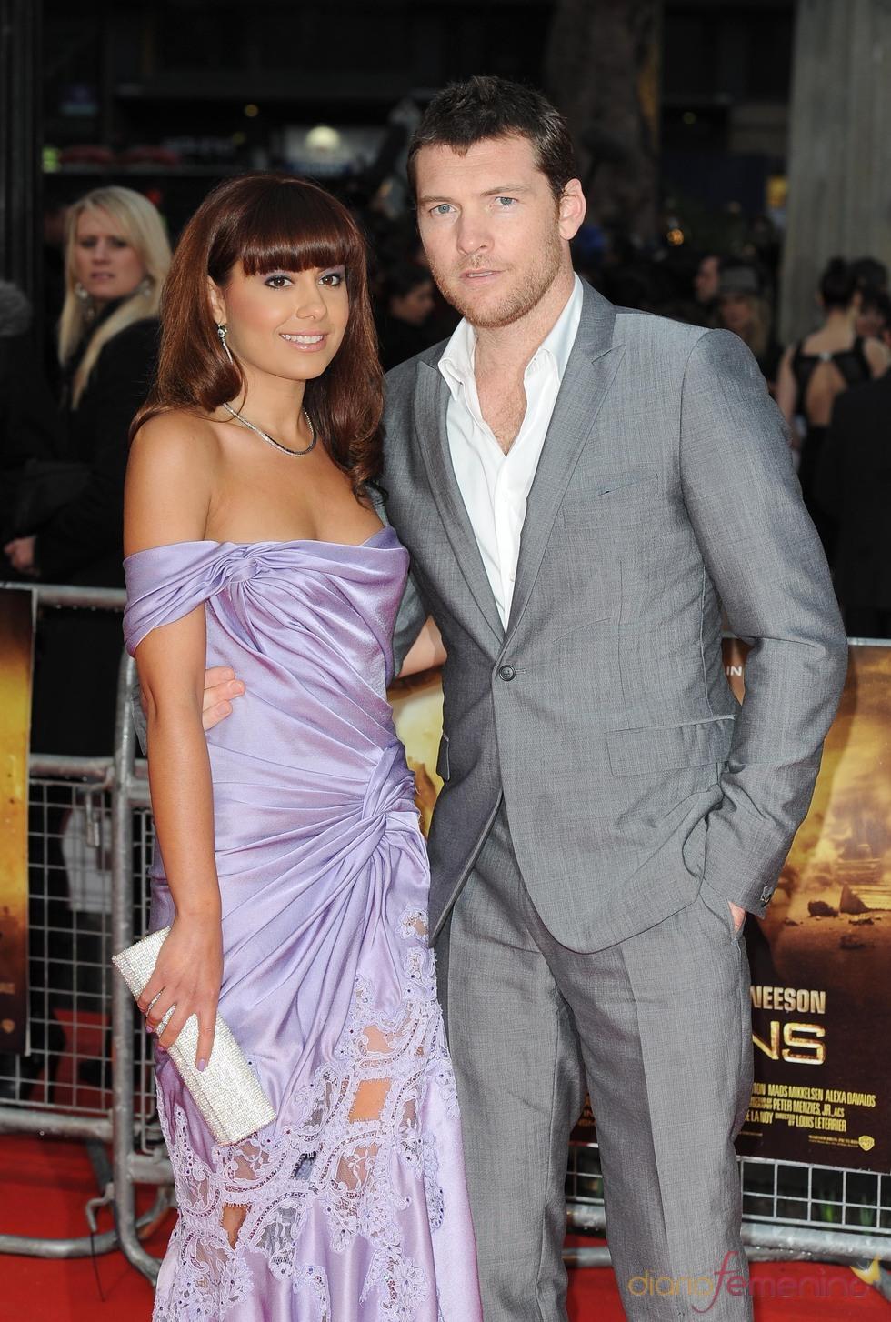 Sam Worthington con su novia, Natalie Mark