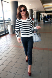 Cheryl Cole, glamour en el aeropuerto