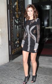 El look sensual de Cheryl Cole