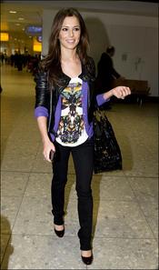 Cheryl Cole, cómoda a la par que fashion