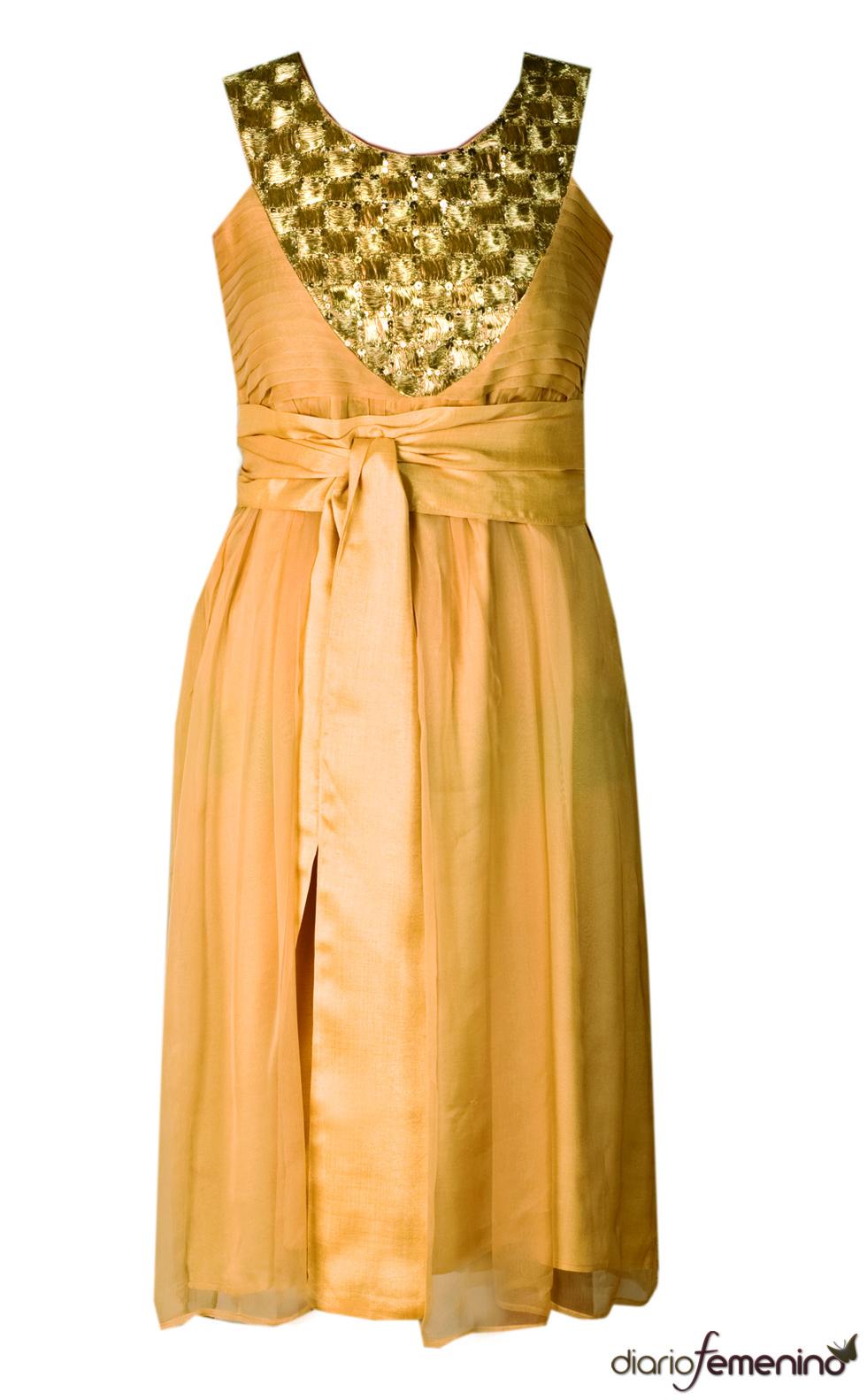 Vestido naranja de Niza
