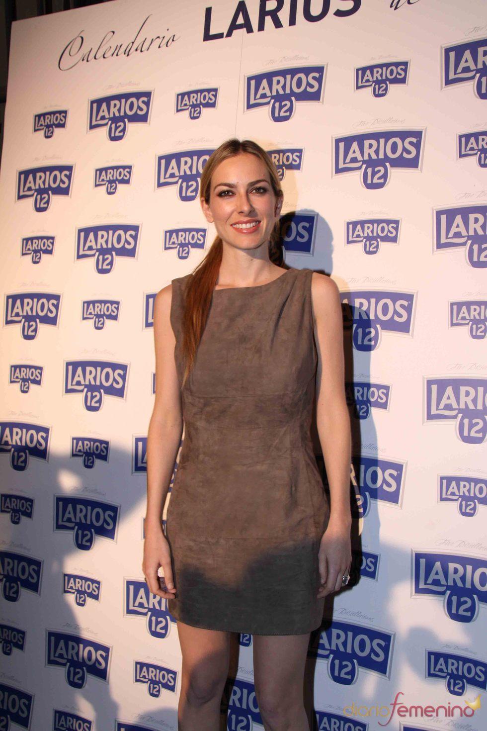 Kira Miró en la presentación del Calendario Larios de la Moda 2010