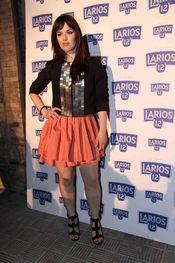 Sara Vega en la presentación del Calendario Larios de la Moda 2010