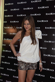 Mónica Hoyos en la 'Private night' de BDBA