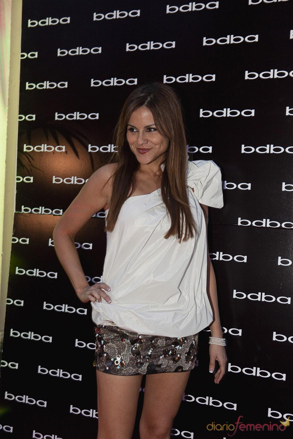 Mónica Hoyos en la 'Private night' de BDBA