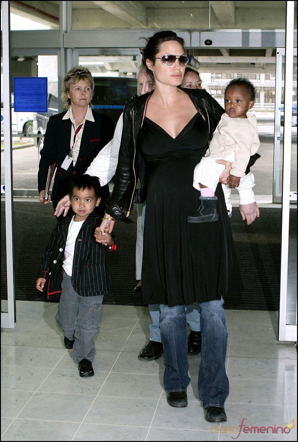 Angelina Jolie es la madre más famosa