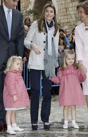 Letizia Ortiz, futura Reina y madre de la futura Reina Leonor
