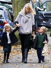 Gwyneth Paltrow es madre de Apple y Moses