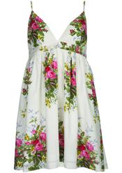 Vestido de tirantes floral de Topshop