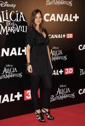 Lorena Van Heerde en el estreno de 'Alicia en el país de las maravillas'