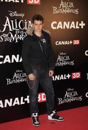 Gonzalo Ramos en el estreno de 'Alicia en el país de las maravillas'
