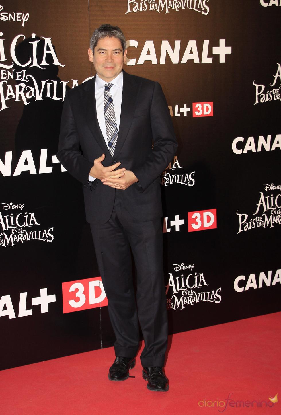 Boris Izaguirre en la premiere de la última película de Tim Burton