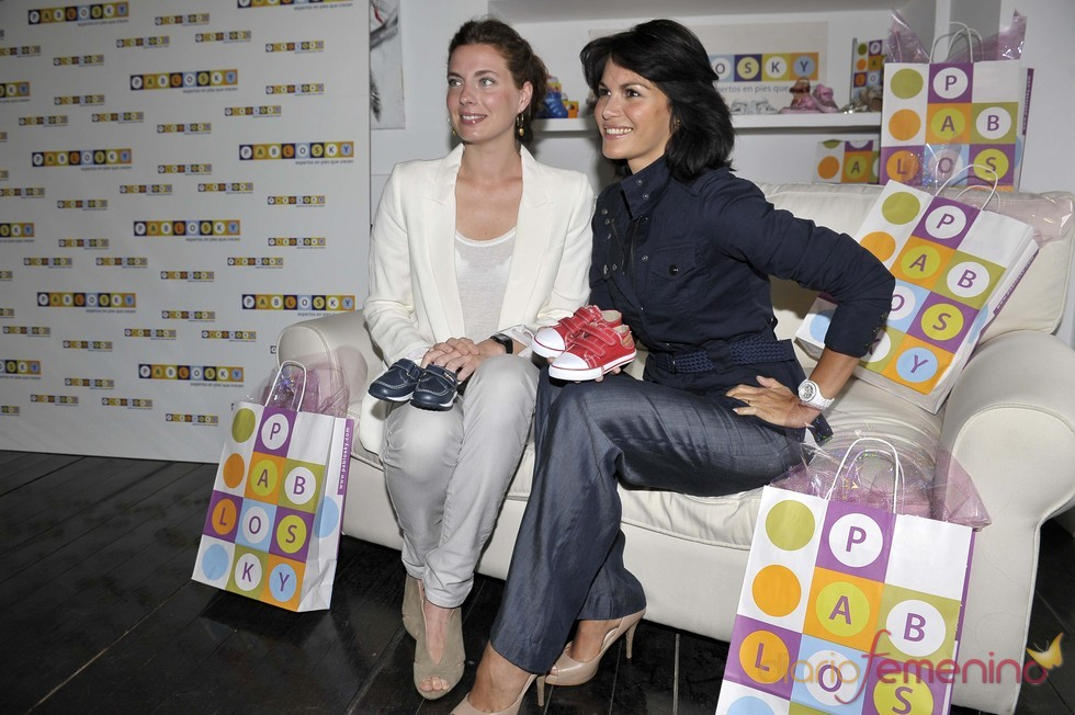 Fabiola Martínez y Alejandra Osborne promocionan Pablosky