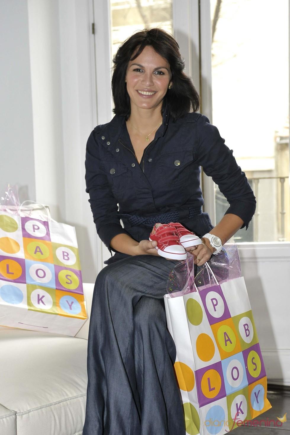 Fabiola Martínez, imagen de la nueva colección de Pablosky