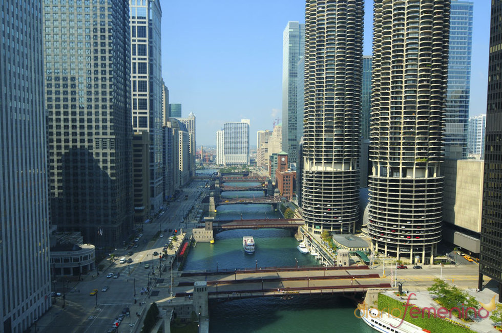 El río Chicago es una de las grandes atracciones de la ciudad