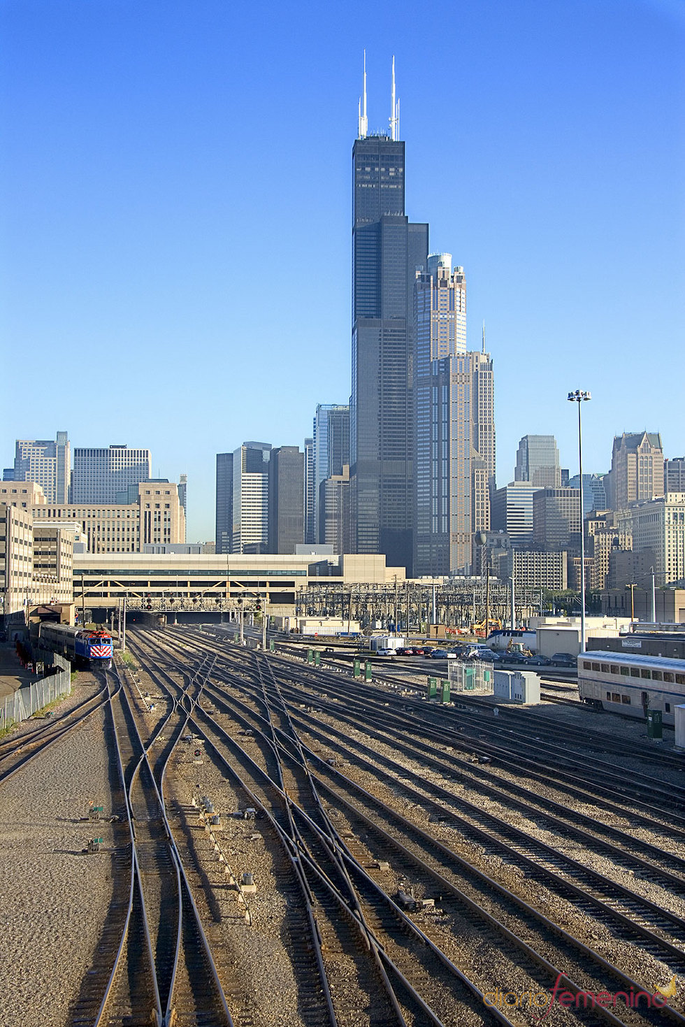 Trenes en Chicago