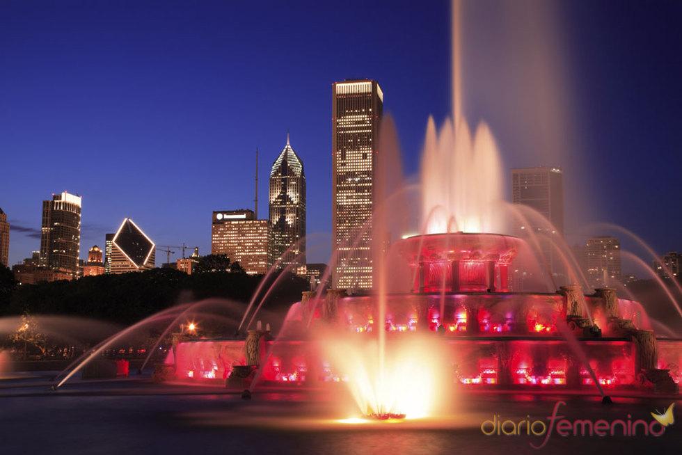Grant Park en la ciudad de Chicago