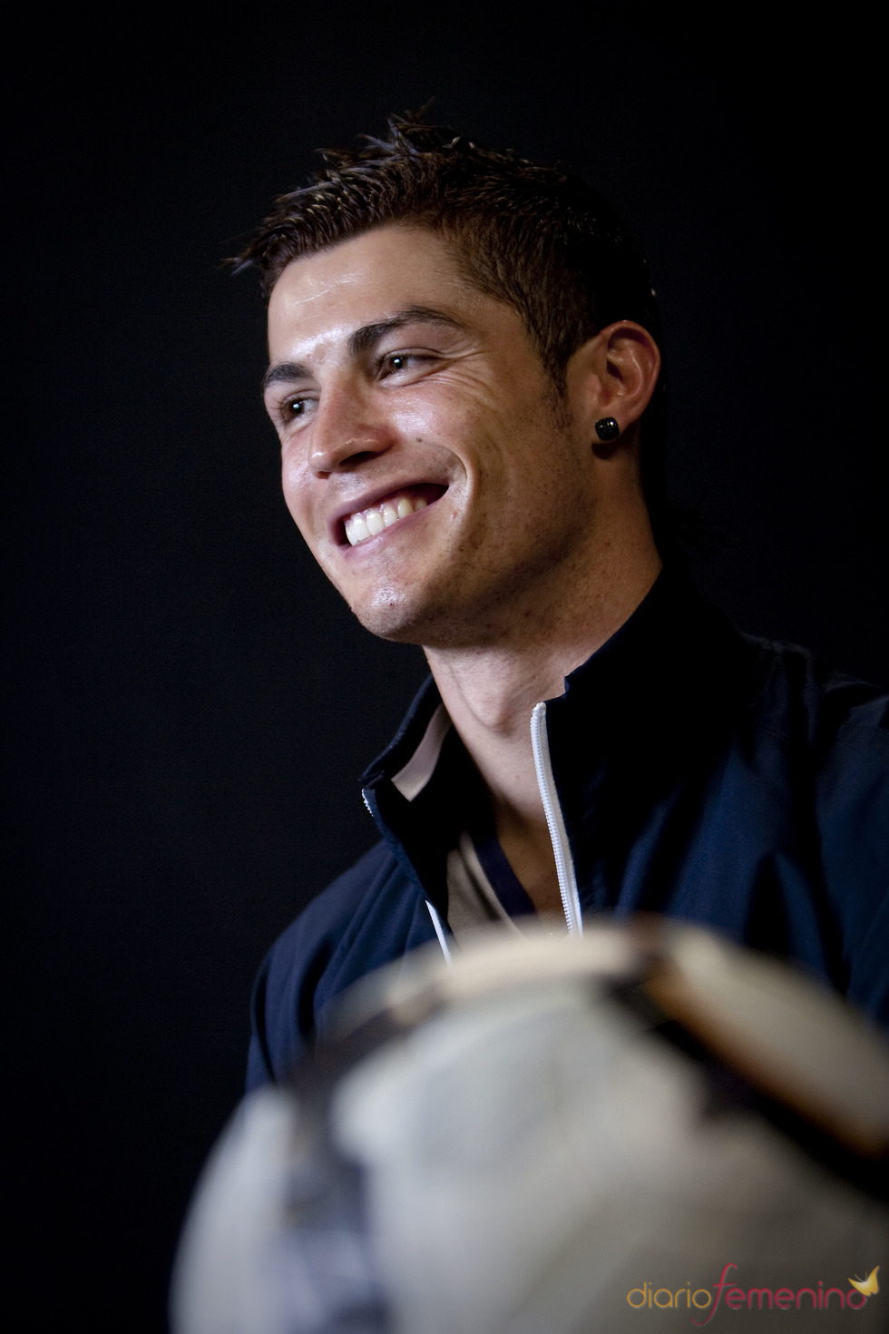 Cristiano Ronaldo, la sonrisa perfecta
