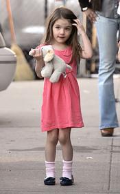 Suri Cruise Holmes, una niña modelo