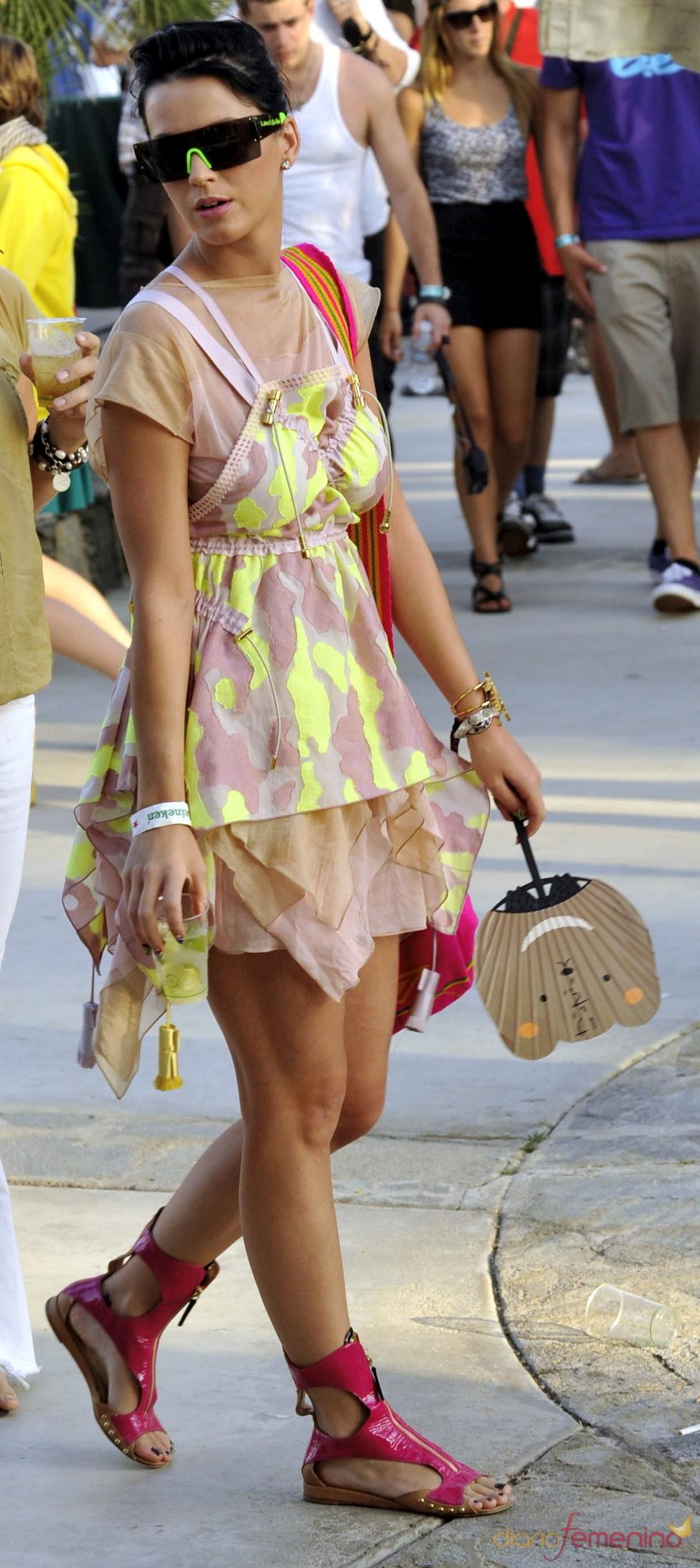 Katy Perry en el festival de Coachella