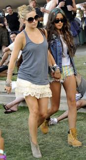 Kate Hudson en el festival de Coachella