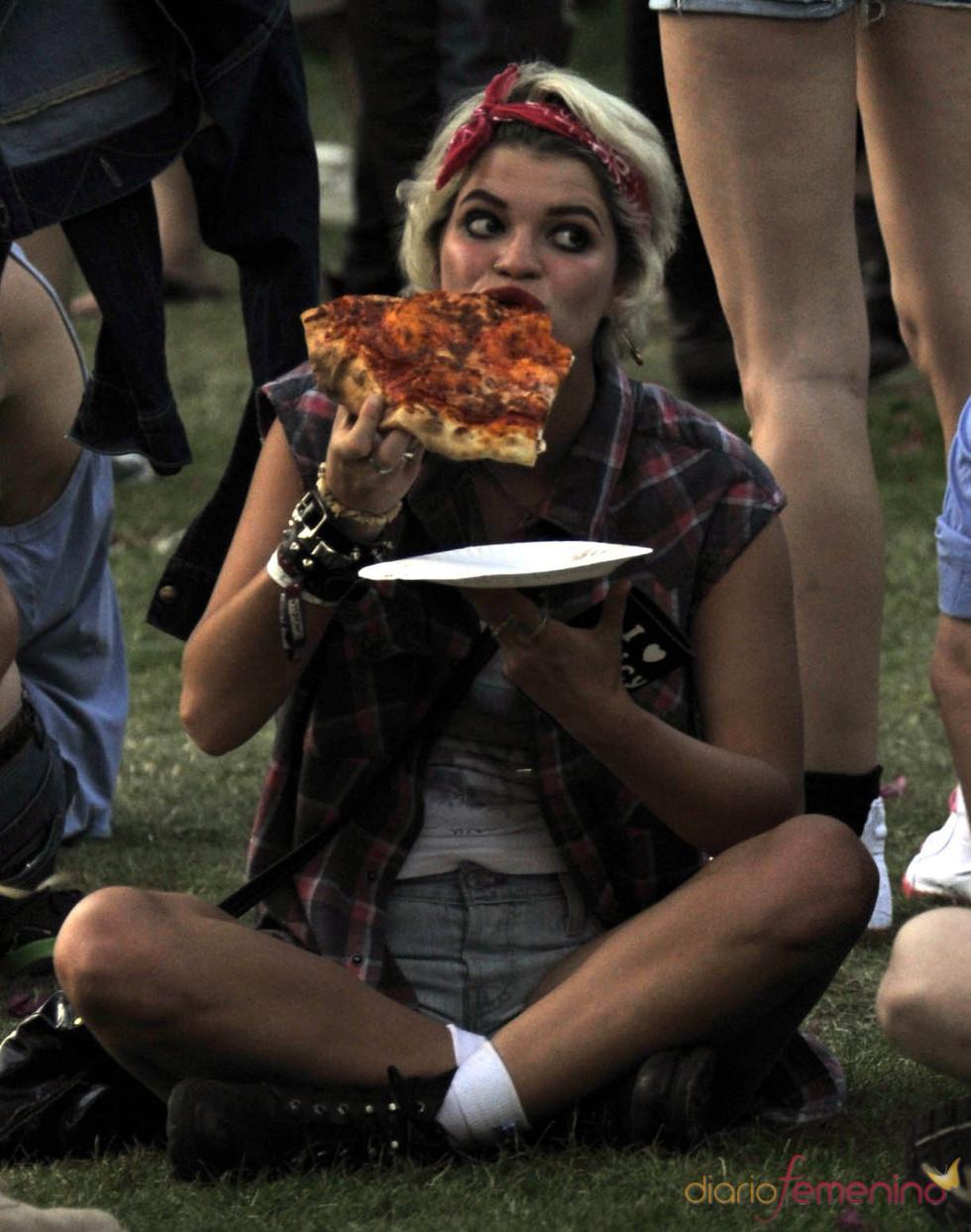 Pixie Geldof en el festival de Coachella