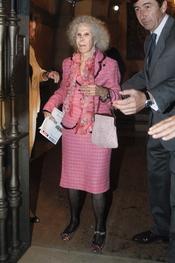 La Duquesa de Alba en la Feria de Abril