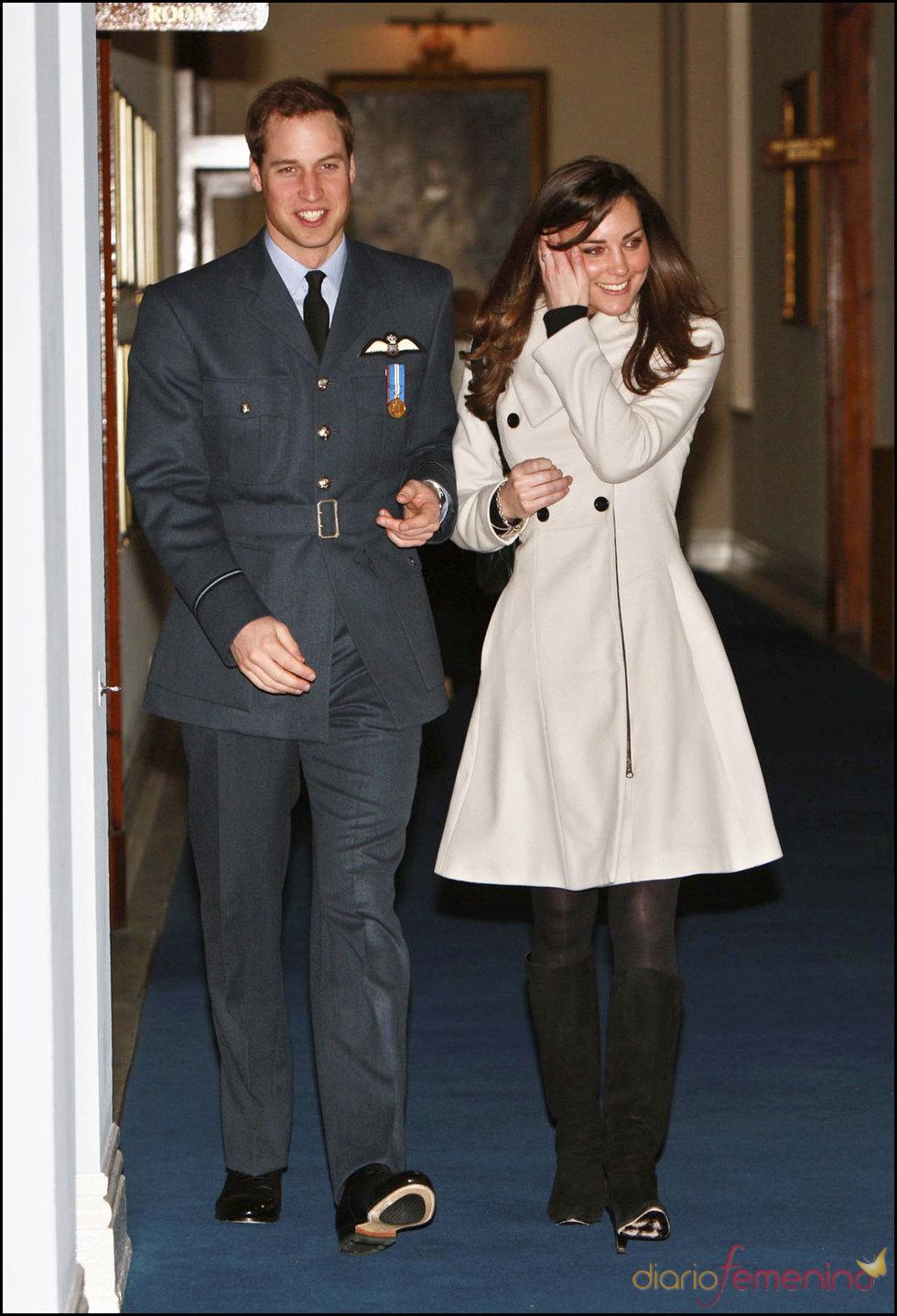 Kate Middleton en la graduación en la RAF de Guillermo de Inglaterra