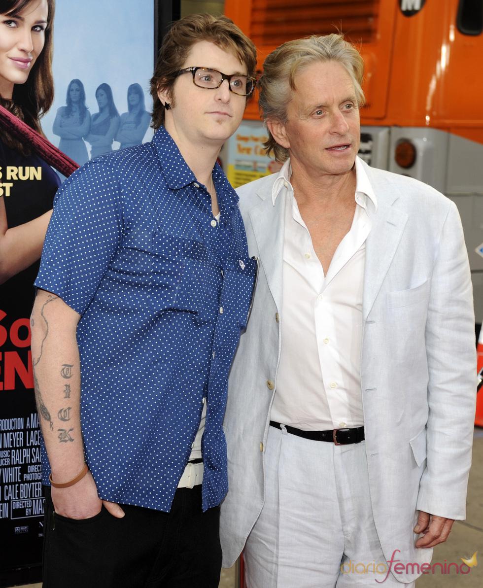 Cameron y Michael Douglas