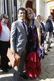 Victor Puerto y Noelia Margotón en la Feria de Abril