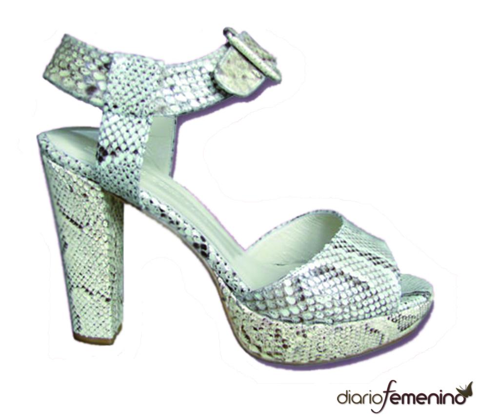 Zapato de pitón de Mariló Dominguez
