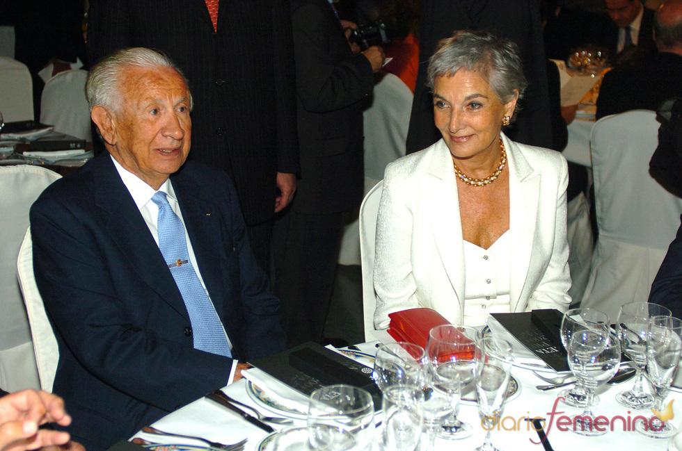 Samaranch con Lluisa Sallent