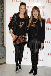 Sandra Ibarra y Sara Navarro en los Premios Telva Solidaridad