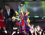 Lady Gaga, multicolor en los MuchMusic Video Awards 2011