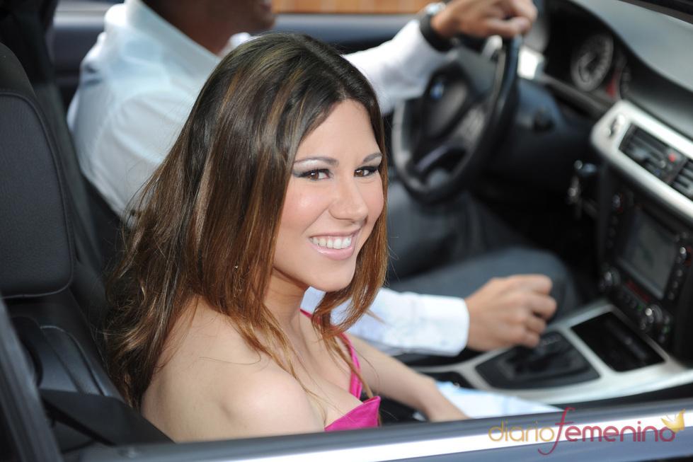 La cantante Tamara en la boda de Luis Rollán